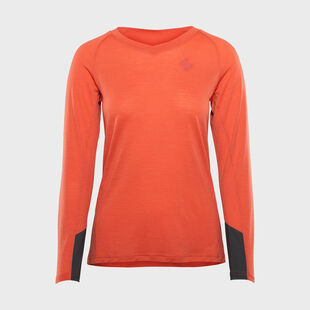 Hunter Merino LS Jersey Womens, , hi-res