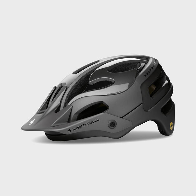 Sweet Protection Bushwhacker II Mountain Bike Helmet Matte White//gloss noir M//L