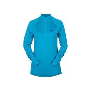 Alpine Merino Wool Base Layer Half Zip Top Womens, , hi-res