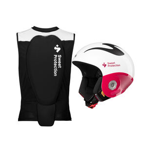 Volata Helmet and Back Protector Vest Womens, , hi-res