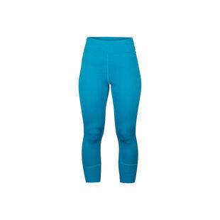 Alpine Merino Wool 3/4 Base Layer Pants Womens, , hi-res