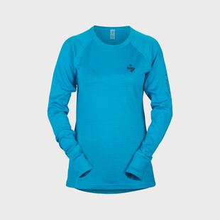 Alpine Merino Wool Base Layer Crew Top Women's, , hi-res