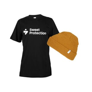 T-Shirt & Chimney Beanie, , hi-res