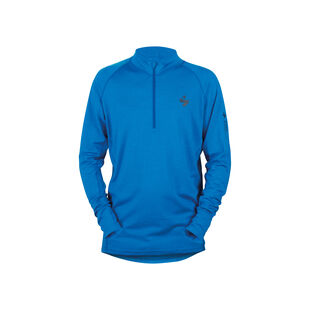 Alpine Merino Wool Half Zip Base Layer Shirt Mens, , hi-res