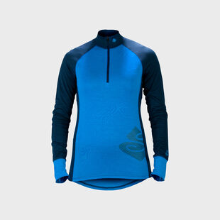 Alpine Merino Wool Base Layer Half Zip Top Women's, , hi-res
