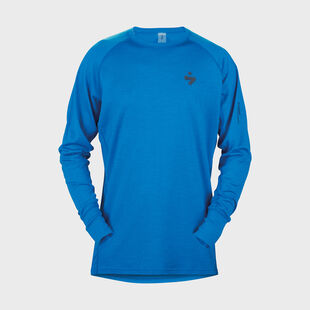 Alpine Merino Wool Base Layer Crew Shirt Mens, , hi-res
