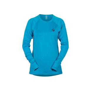 Alpine Merino Wool Base Layer Crew Top Womens, , hi-res