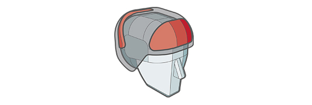 Gate Shields feature of Sweet Protection helmet.