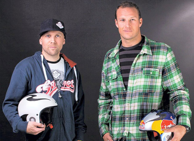 Aksel Lund Svindal who give the hand-crafted Rooster Corsa helmet.